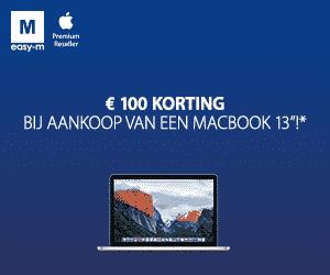 100 euro korting bij Easy-M