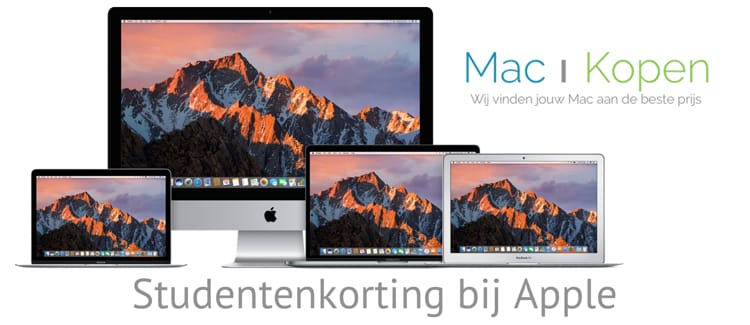 Studentenkorting bij Apple