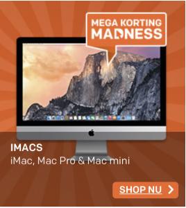 Mega kortingen op iMac