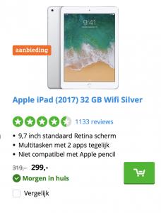 Solden op iPad CoolBlue